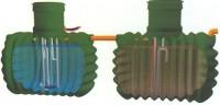 Technische Kleinkläranlagen Technik Plastikbehälte